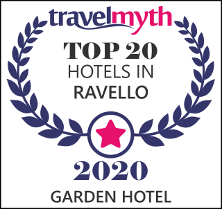 TravelMyth Award Top 20 Hotels in Ravello